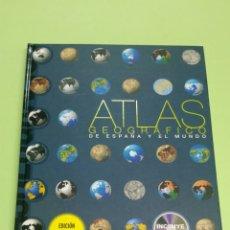 Libros: ATLAS GEOGRÁFICO DE ESPAÑA Y EL MUNDO SM NUEVO A ESTRENAR 2008. Lote 121022816