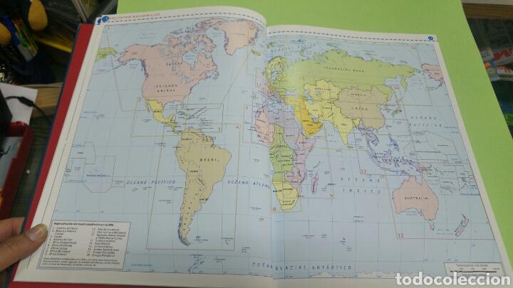 Libros: Atlas geográfico de España y el mundo SM NUEVO A ESTRENAR 2008 - Foto 5 - 121022816