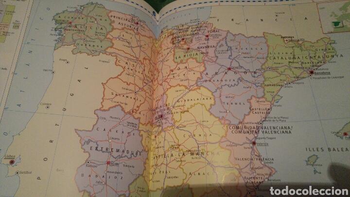 Libros: Atlas geográfico de España y el mundo SM NUEVO A ESTRENAR 2008 - Foto 6 - 121022816