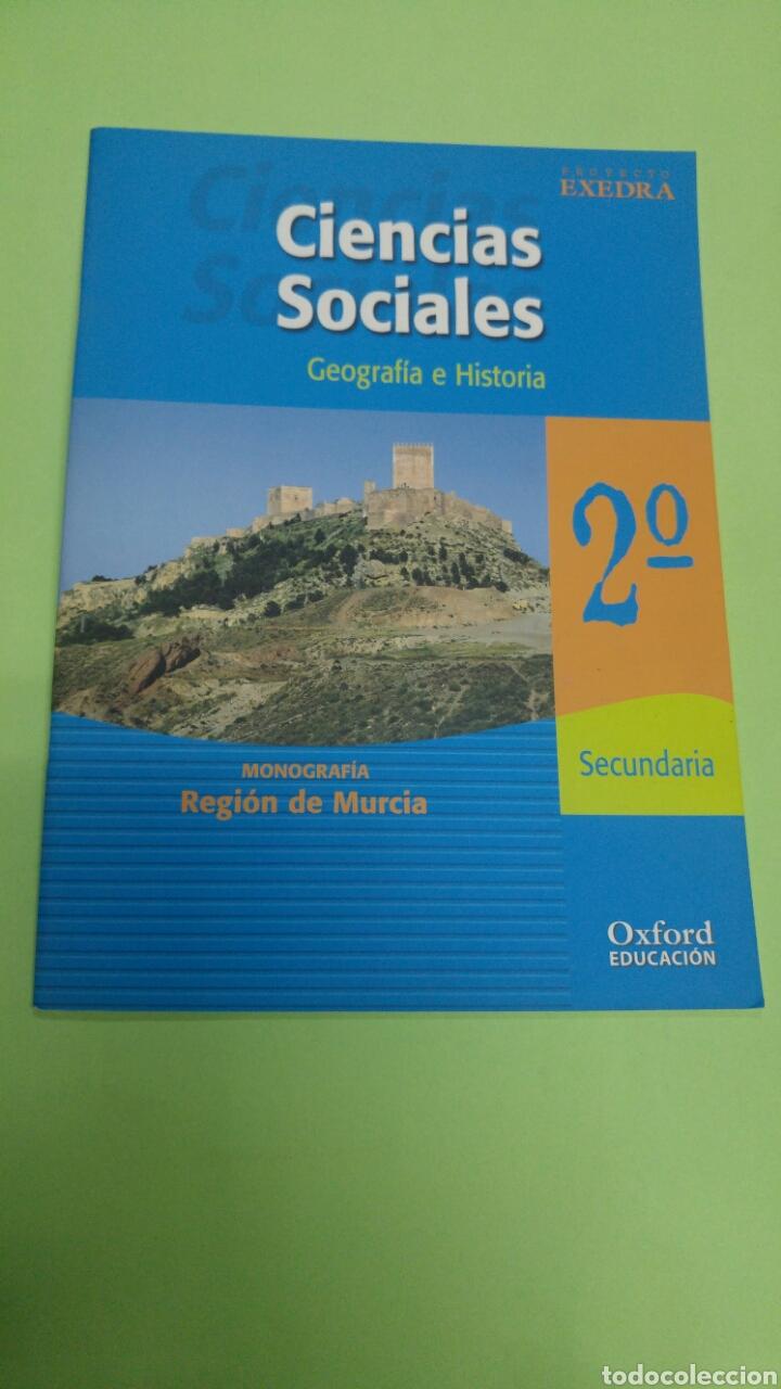 CIENCIAS SOCIALES MONOGRAFÍA REGIÓN DE MURCIA 2°ESO OXFORD (Libros Nuevos - Libros de Texto - ESO)