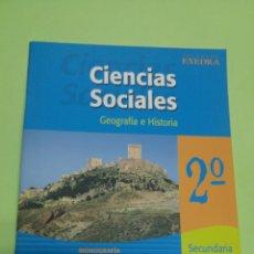 Libros: CIENCIAS SOCIALES MONOGRAFÍA REGIÓN DE MURCIA 2°ESO OXFORD. Lote 252113440