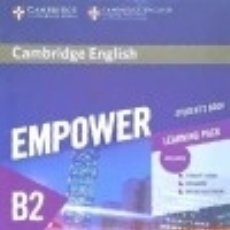 Libros: CAMBRIDGE ENGLISH EMPOWER FOR SPANISH SPEAKERS B2 STUDENTS BOOK WITH ONLINE ASSESSMENT AND. Lote 125931628