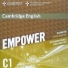 Libros: CAMBRIDGE ENGLISH EMPOWER FOR SPANISH SPEAKERS C1 WORKBOOK WITH ANSWERS WITH DOWNLOADABLE AUDIO. Lote 125934708