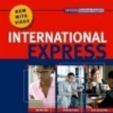 Libros: INTERNATIONAL EXPRESS PRE-INTERMEDIATE. STUDENT'S PACK. (STUDENT'S BOOK, POCKET BOOK & DVD). Lote 125935040