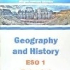 Libros: GEOGRAPHY AND HISTORY, ESO 1 EXTENDED. Lote 125935047