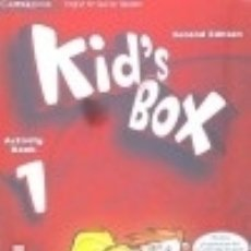 Libros: KID'S BOX FOR SPANISH SPEAKERS LEVEL 1 ACTIVITY BOOK WITH CD-ROM AND LANGUAGE PORTFOLIO 2ND EDITION. Lote 125935079