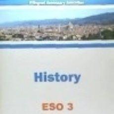 Libros: HISTORY - ESO 3. Lote 125935191