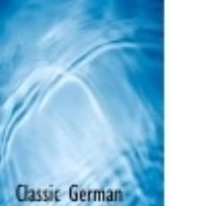 Libros: CLASSIC GERMAN COURSE IN ENGLISH. Lote 71006258