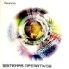 SISTEMAS OPERATIVOS MONOPUESTO Ediciones Paraninfo