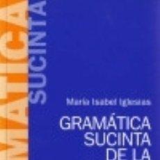 Livres: GRAMÁTICA SUCINTA DE LA LENGUA INGLESA. Lote 87419659