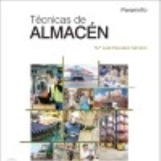 Libros: TÉCNICAS DE ALMACÉN. Lote 67914795