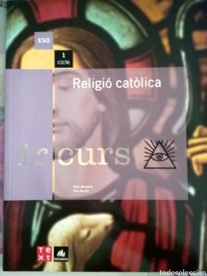 RELIGIO CATOLICA. 1ESO TEXT LA GALERA (Libros Nuevos - Libros de Texto - ESO)