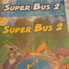 Libros: SUPER BUS 2. PUPIL'S+ACTIVITY BOOK+CD. Lote 128126970