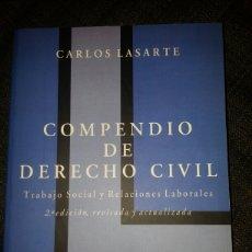 Libros: COMPENDIO DE DERECHO CIVIL 2005. CARLOS LASARTE.. Lote 128370004