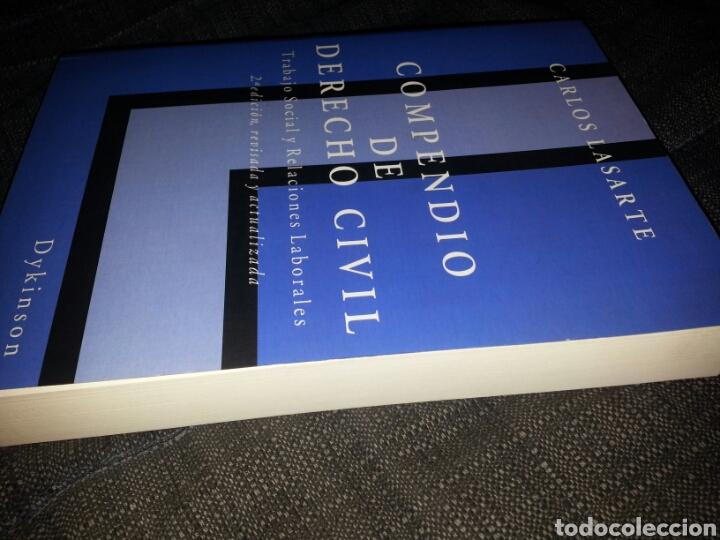 Libros: Compendio de Derecho Civil 2005. Carlos Lasarte. - Foto 3 - 128370004