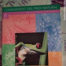 Libros: CONEIXEMENT DEL MEDI NATURAL 6 CASTELLNOU. Lote 128696823
