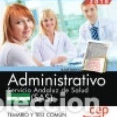 Bücher - Administrativo. Servicio Andaluz de Salud (SAS). Temario y test común - 129521616