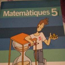 Libros: MATEMÀTIQUES 5. SANTILLANA. Lote 132717342