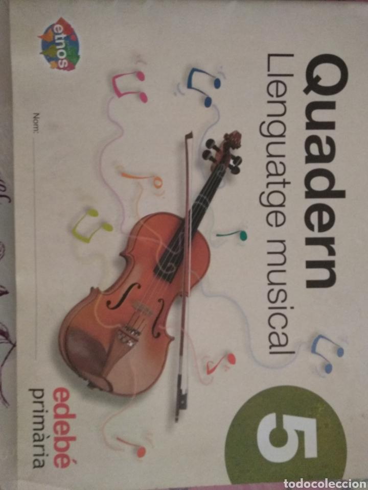QUADERN LLENGUATGE MUSICAL 5. EDEBÉ (Libros Nuevos - Libros de Texto - Infantil y Primaria)