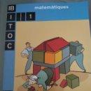 Libros: BITOC 2000. MATEMÀTIQUES 1. LA GALERA TEXT. Lote 132746435