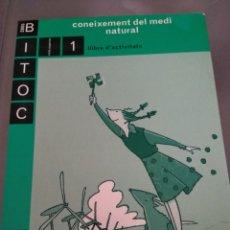Libros: BITOC 2000 CONEIXEMENT DEL MEDI NATURAL. Lote 132747626
