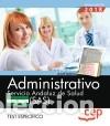 ADMINISTRATIVO. SERVICIO ANDALUZ DE SALUD (SAS). TEST ESPECÍFICO (Libros Nuevos - Libros de Texto - Infantil y Primaria)