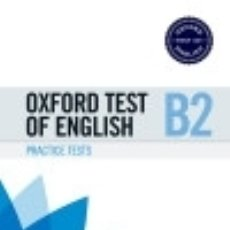 Libros: OXFORD TEST OF ENGLISH PRACTICE PACK B2. Lote 133935511