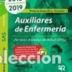 Libros: AUXILIARES DE ENFERMERÍA DEL SAS. TEMARIO ESPECÍFICO. VOLUMEN 1.. Lote 133935673