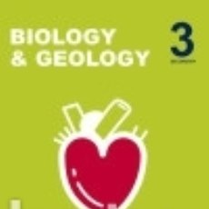 Libros: INICIA BIOLOGY & GEOLOGY 3.º ESO. STUDENT'S BOOK. Lote 133935877