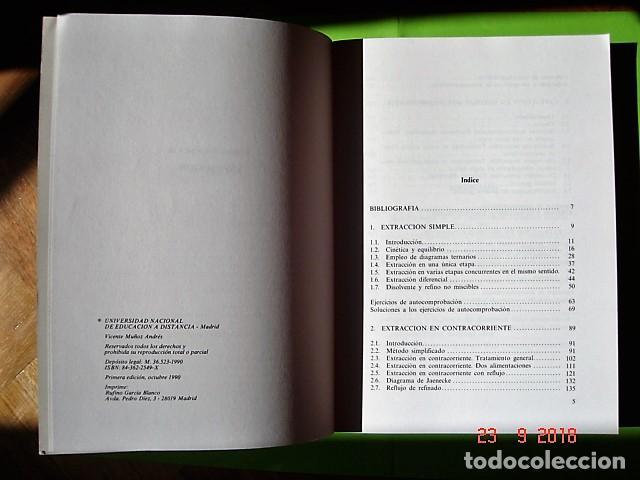 Libros: TOMO 4, QUÍMICA TÉCNICA DE VICENTA MUÑOZ ANDRÉS. U.N.E.D. 1ª ED, 1990. - Foto 4 - 134079626