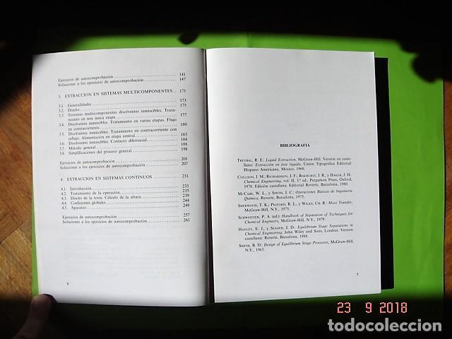 Libros: TOMO 4, QUÍMICA TÉCNICA DE VICENTA MUÑOZ ANDRÉS. U.N.E.D. 1ª ED, 1990. - Foto 5 - 134079626