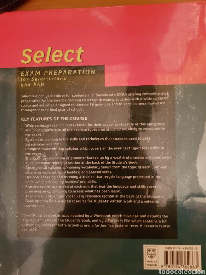Libros: SELECT. Exam preparation for Selectividad and PAU - Foto 2 - 134122445