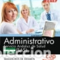 Bücher - Administrativo. Servicio Andaluz de Salud (SAS). Simulacros de examen - 134167131