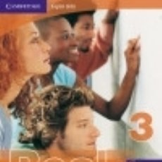 Libros: CAMBRIDGE ENGLISH SKILLS REAL READING 3 WITH ANSWERS WITH ANSWERS. Lote 134383589