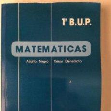 Libros: MATEMÁTICAS 1º BUP. ALHAMBRA. NUEVO. Lote 134756398