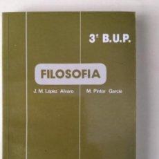 Libros: FILOSOFIA 3º BUP. ALHAMBRA. NUEVO. Lote 134758102