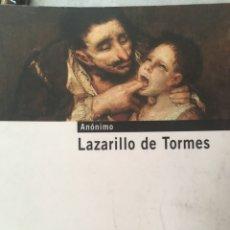 Libros: LAZARILLO DE TORMES. Lote 135024379