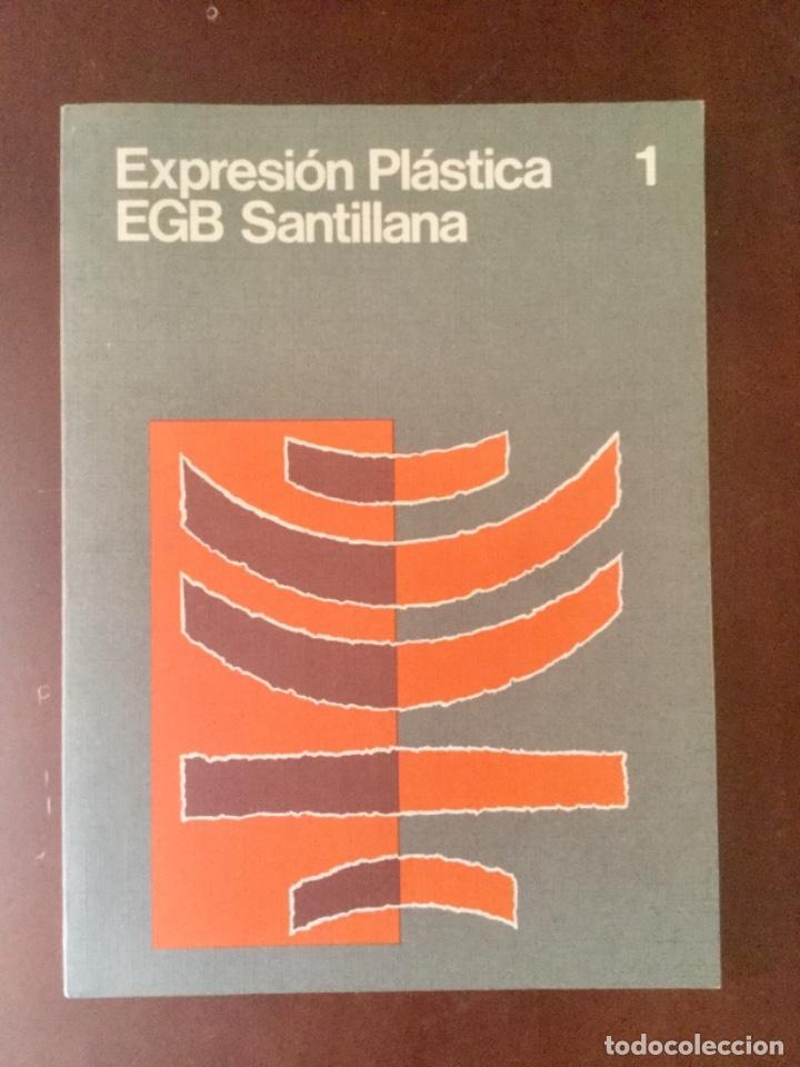 EXPRESION PLÁSTICA 1º EGB. SANTILLANA (Libros Nuevos - Libros de Texto - Infantil y Primaria)