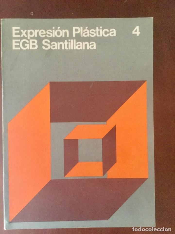 EXPRESION PLÁSTICA 4º EGB. SANTILLANA (Libros Nuevos - Libros de Texto - Infantil y Primaria)
