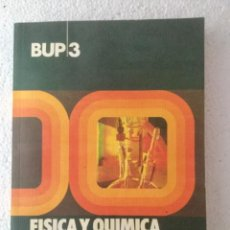 Libros: FÍSICA Y QUIMICA 3º BUP. EVEREST. Lote 135515946