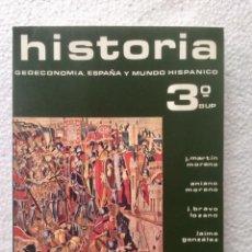 Livres: HISTORIA 3º BUP. SILOS. SIN USAR.. Lote 135698927