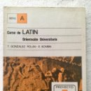 Libros: CURSO DE LATIN. COU. ALHAMBRA. Lote 135699895