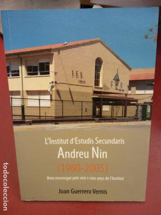 BJS.L INSTITUT D ESTUDIS ANDREU NIN.JOAN GUERRERO VERNIS.EDT IES.. (Libros Nuevos - Libros de Texto - ESA)