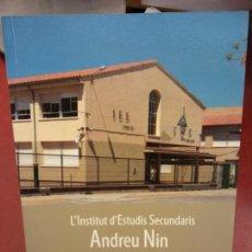 Libros: BJS.L INSTITUT D ESTUDIS ANDREU NIN.JOAN GUERRERO VERNIS.EDT IES.. . Lote 139963266