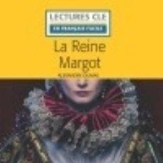 Libros: LA REINE MARGOT- NIVEAU 1/A1 - LECTURE CLE EN FRANÇAIS FACILE - NOUVEAUTÉ - LIVRE + CD. Lote 140248992