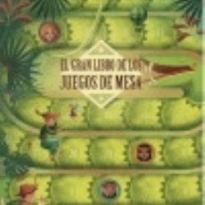 Libros: EL GRAN LIBRO DE LOS JUEGOS DE MESA (VVKIDS). Lote 140261816