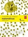 CUADERNO DE MATEMÁTICAS. 1 PRIMARIA, 1 TRIMESTRE. SAVIA (Libros Nuevos - Libros de Texto - Infantil y Primaria)