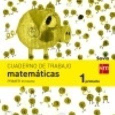 Libros: CUADERNO DE MATEMÁTICAS. 1 PRIMARIA, 1 TRIMESTRE. SAVIA. Lote 140366400