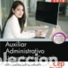 Libros: AUXILIAR ADMINISTRATIVO DE LA UNIVERSIDAD DE GRANADA. TEST Y SIMULACROS DE EXAMEN. Lote 140374976