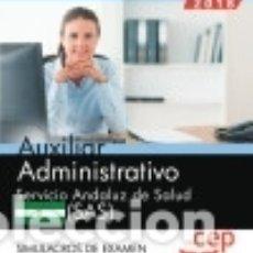 Libros - Auxiliar Administrativo. Servicio Andaluz de Salud (SAS). Simulacros de examen - 140375122